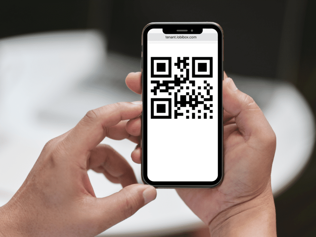 Visitor's QR Code